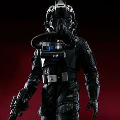Rogue Friday is starting early over here! The Imperial TIE Fighter Pilot from Rogue One: A Star Wars Story is available for pre-order on our website.  #starwars #rogueone #tiepilot