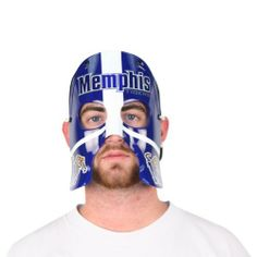 NCAA Rally Face - Memphis Tigers by Rally Face. $4.98. officially licensed collegiate product. fulfilled by Amazon. can be worn 3 ways. Do you want to really stand out at the game this is the perfect piece it lets you scream you heart out and dawn your team colors all over your face without the messy paint. It can be worn 3 ways. With the included arms like sunglasses; with a backwards baseball cap; or with includes string around your head.