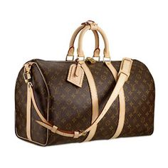 My favorite weekend bag...LV Keeepall 45-Holds everything and still fits nicely under an airline seat..