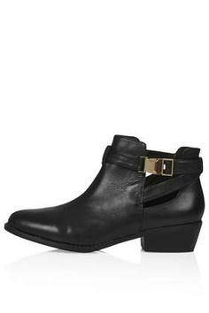 BOUNTY Cut Out Boots - Boots - Shoes