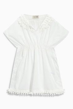 Buy Pom Pom Kaftan (3-16yrs) online today at Next: United States of America