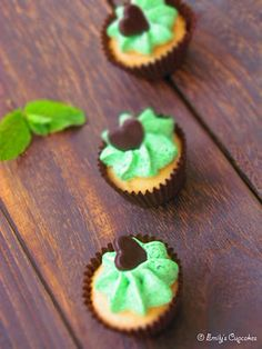 after eight mini cupcakes