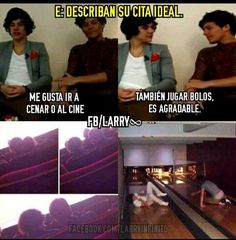 Read 145 from the story Memes de Y Larry. Four One Direction, One Direction Memes, Larry Stylinson, Foto One, Funny Umbrella, Harry Styles Memes, Larry Shippers, Five Guys, Louis And Harry