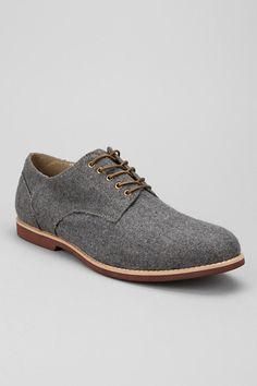 Hawkings McGill Felt Buck Shoe // Wow, I really want these