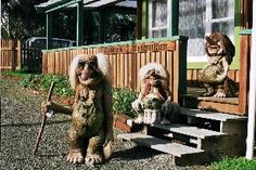 Trolls are leaving your yard