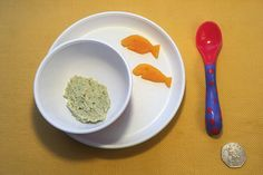 Portion size for a 6mo. Helpful advice, recipes and more on our weaning app!
