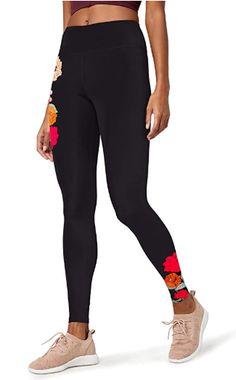 Legging de Sport Skinny AURIQUE Velour Panel Femme
