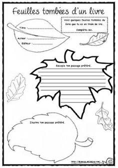 Une fiche pour recopier et illustrer son passage préféré >iciiciici<  (site...