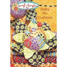 Daisy Pin Cushion Sewing Pattern - Jennifer Jangles