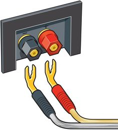 Home A/V Connections Glossary Home Theater Sound System, Home Theatre Sound, Home Theater Setup, Home Theater Speakers, Tower Speakers, Audio Speakers, Cable Tv Alternatives, Subwoofer Box Design, Electrical Circuit Diagram