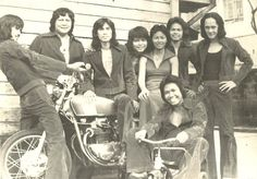 The Biker's Band, a Philippine band. Filipino Fashion, Philippines Fashion, Pinoy, 1960s, Biker, Champion, Nostalgia, Culture, Band