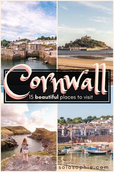 15 Incredible Cornish attractions and Places to Visit in Cornwall, South West England (here are the best Cornwall coastal towns, stunning coastline, historic sites, etc) Things To Do In Cornwall, Things To Do In London, Scotland Travel, Ireland Travel, Highlands Scotland, Skye Scotland, Scotland Castles, Beautiful Places To Visit, Cool Places To Visit