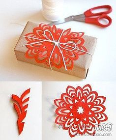 Flower Paper Cutting Craft