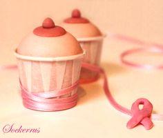 breast cancer awareness boob cupcakes!  LOL  Funnies
