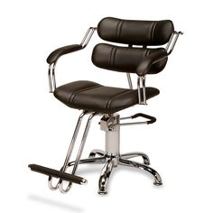 AR-116633-D - Sophisticated, fun and comfortable, your clients will love the Abby Hydraulic Styling Chair on our heavy duty round base.