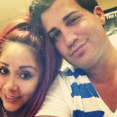Snooki Nicole Polizzi and Jionni LaValle