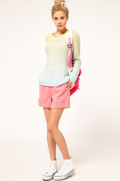 ASOS Dip Dye Sweater