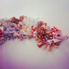 Paper Musings: Paper Installation for Atelier Joya