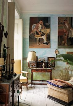 bohemian eclectic home of architect Tomas Colaço