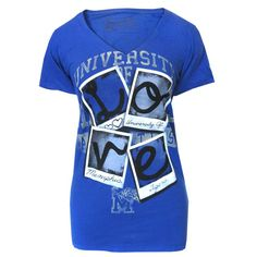 We love this new University of Memphis Tigers women's tee from Pressbox brand! $16.95