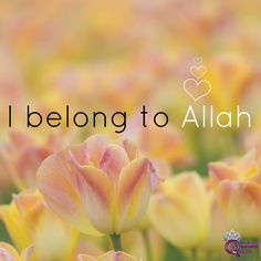We belong to Allah... and to Him we shall return. May He be pleased with us. #Alhumdulillah #For #Islam #Muslim