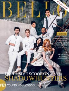 Real talk Shadowhunters might be one of the most attractive casts of a television show in the history of television.