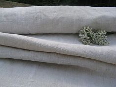 antique hemp linen roll 4.15  yards by 24.40 pale by grainsack