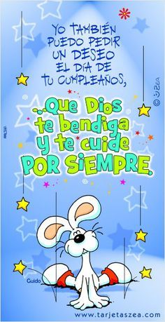 Te deseo un feliz cumpleaños  http://enviarpostales.net/imagenes/te-deseo-un-feliz-cumpleanos-5/ felizcumple feliz cumple feliz cumpleaños felicidades hoy es tu dia