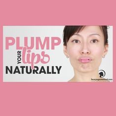 want to share with you one of my favorite exercises for the lips. It is very easy but IT WORKS! Lips get plenty of exercise daily through talking, smiling, chewing and kissing.  So maybe you are wondering what else you can do to exercise your lips. The following exercise stimulates the muscles around the mouth so that they make your lips firm, smooth and plump.  You won't need to use lip balms so often any more! https://faceyogamethod.com/how-to-plump-lips-naturally/