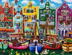Il mondo di Mary Antony: L'arte naif di Elio Nava