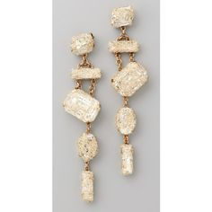 Erickson Beamon Smoke & Mirrors Earrings