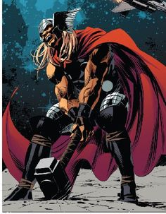 Thor by Mike Deodato Jr.