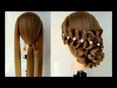 New Amazing Hair Transformations - Beautiful Wedding Hairstyles Compilation 2017 part 7 - YouTube