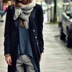 #scarves #overcoat #bestaccesory #wardrobe #staples #fashion #chic #mystyle