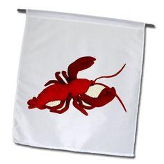 3dRose fl_1296_1 Lobster, Garden Flag, 12 by 18-Inch 3dRose http://smile.amazon.com/dp/B00BR48CJY/ref=cm_sw_r_pi_dp_MjLfub1B41NS1