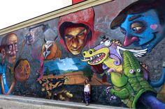 Street art in Plovdiv, Bulgaria https://fernwehbeat.wordpress.com/2016/01/18/la-comida-en-sofia-y-el-festival-de-color-en-plovdiv/