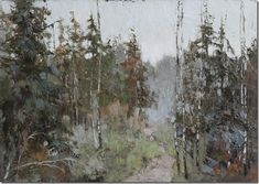 Camino en el bosque-Alexander-Zavarin-ENKAUSTIKOS
