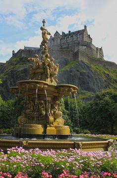 Edinburgh Castle; MARY, 'QUEEN OF SCOT'S,' CASTLE!