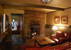 The Evergreen Suite at the Highland Haven Creekside Inn, an amazing place with exceptional service!