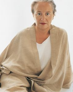 Lidewij Edelkoort - a Dutch trend forecaster.  Such a striking photograph - a beautiful woman in her 60's...