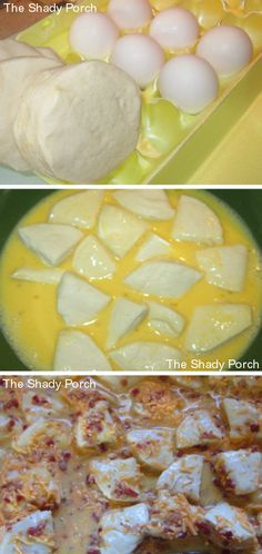 Easy Biscuit Breakfast Bake Cheesy Pull-Apart #breakfast #brunch #casserole #eggs