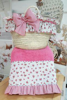 Denim Bag, Ideas Para, Shabby Chic, Vintage Fashion, Basket, African, Diy Crafts, Crochet, Gifts