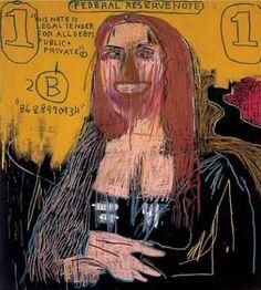 Mona in the eyes of jean Michel Basquiat