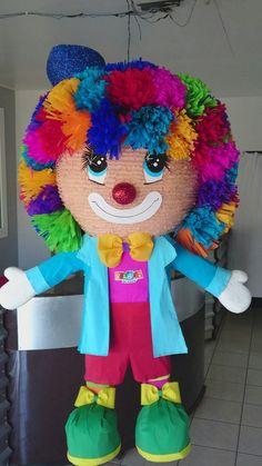 Circus Birthday, Unicorn Birthday Parties, Birthday Party Themes, Clown Party, Circus Party, Pinata Party, Birthday Numbers, Mexican Party, Ideas Para Fiestas