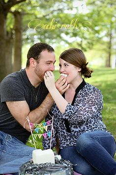 feeding each other cake - photo shoot ~ whitney & chancy one year anniversary portraits » Abi Ruth