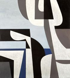 Yiannis Moralis (Greek, Figurehead 100 x 89 cm. Triptych Art, Abstract Geometric Art, Greek Art, New Art, Sculpture Art, Modern Art, Artwork, Shapes, Greece