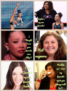 Dance moms comic made by @ Anja Enervold