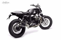 """Savile"" / South Garage Motor Co. Guzzi V7, Moto Guzzi, Scrambler, Motorbikes, Garage, Vehicles, Cafe Racers, Motorcycles, History"
