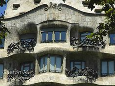 Casa Milà - Barcelona, Spain Арх. Гауди.