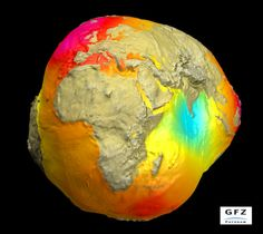 planet earth as a geoid